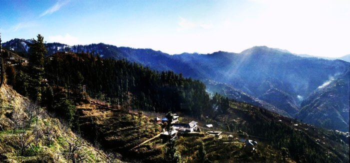 Chail is amongst the most tranquil places in Himachal Pradesh