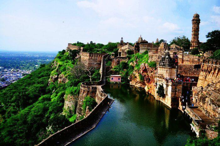 Chittorgarh Fort is one of the most prestigious historical monuments in Udaipur
