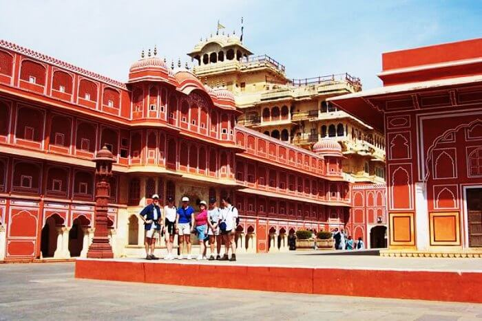 City Palace is one of the most famous historical places in Jaipur
