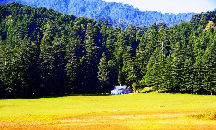 Khajjiar is an amazing place in Himachal Pradesh for the months of May, June & July