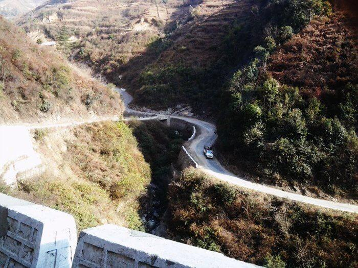 Cycle on the Western Arunachal Trail from Bhalukpong to Tawang