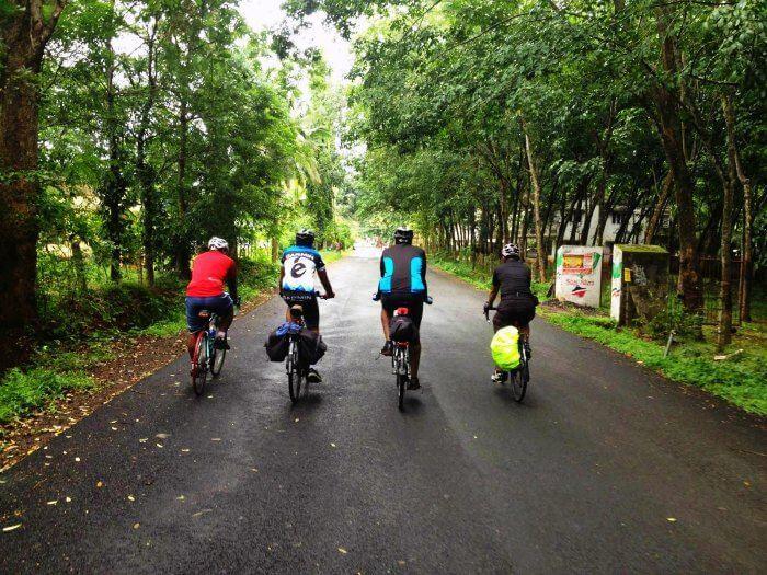 Cycle along the Mumbai-Mangalore-Trivandrum route