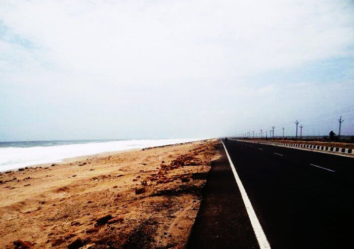 Cycle along the beach from Somnath to Diu