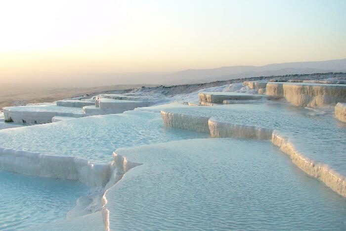 Hierapolis Hot Spring, Turkey