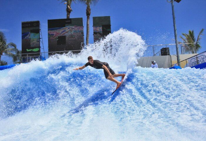 Surfing at the Wavehouse Sentosa is amongst the best adventurous activities in Singapore