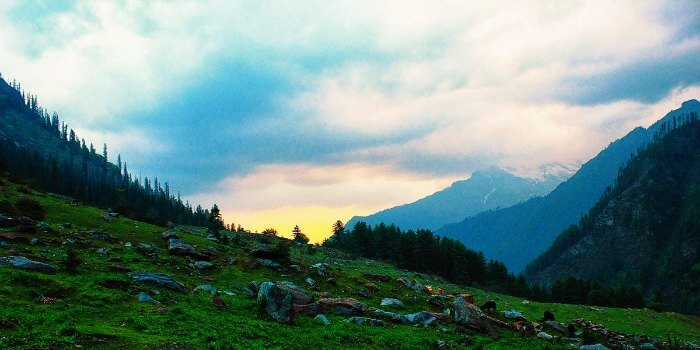 Wake up to the breathtaking sunrise at Kasol - the Amsterdam of India