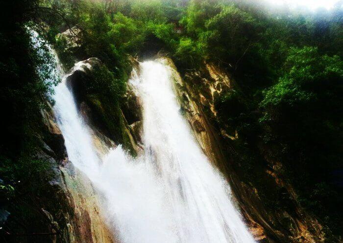 Kempty falls are the nearest waterfalls around Delhi NCR region