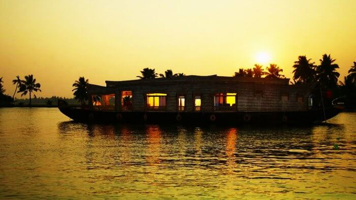 Wake up on your first anniversary in your own houseboat at Kerala