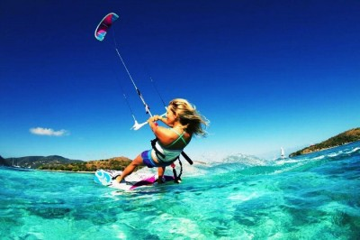 Kite surfing is amongst the fastest growing water sports in Thailand