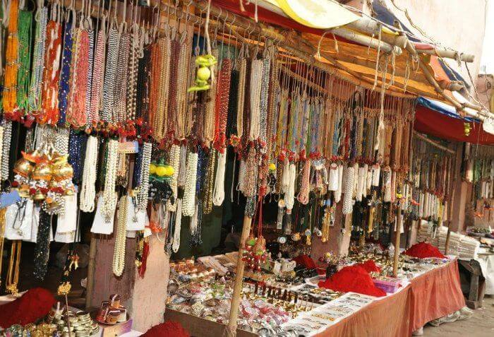 Shop at the Mall road in Nainital