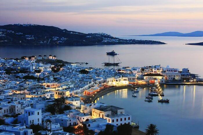 Mykonos Cyclades in Greece is one of the most romantic destinations in the world
