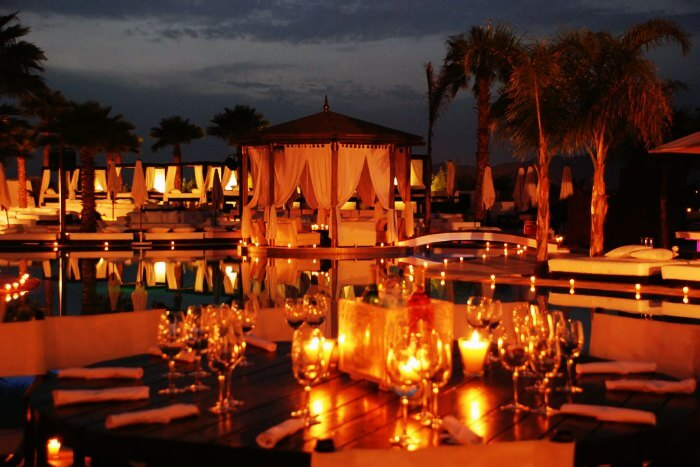 Nikki Beach in Marrakech Morocco