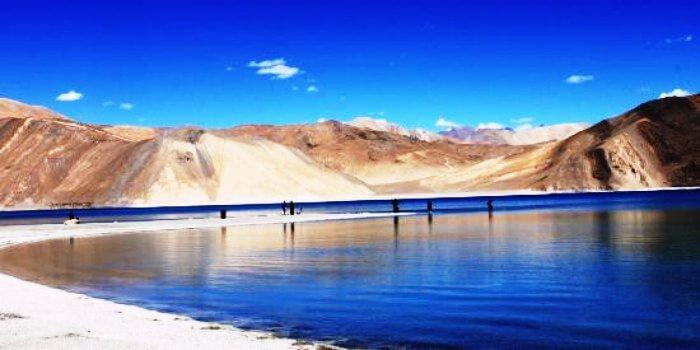Panong Tso Lake in Ladakh
