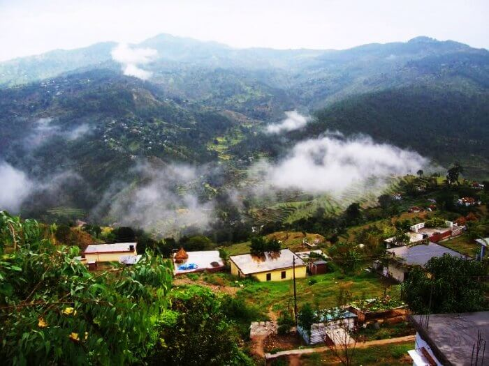 The quaint hill station of Almora