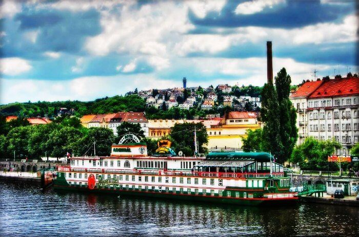 The picturesque city of Prague