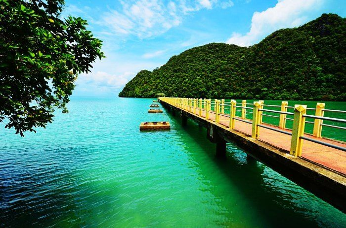 Pulau Langkawi is amongst the most beautiful places to visit in Malaysia for honeymoon