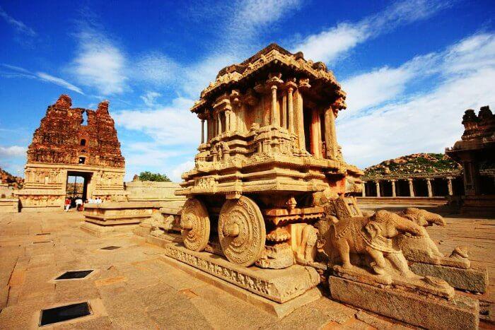 Ruins of Hampi in Karnataka