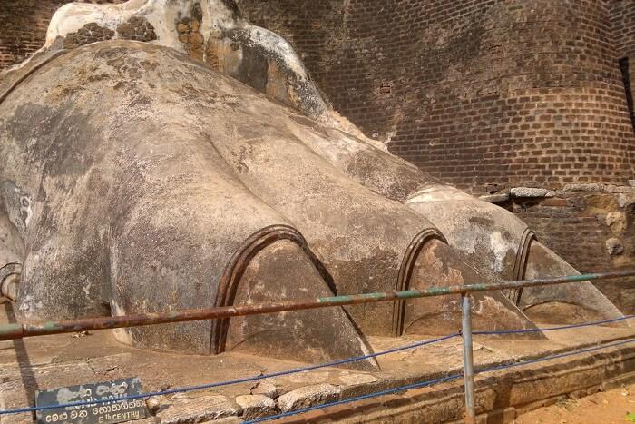 museum showpiece in Sri Lanka
