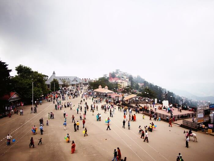 The Shimla Ridge is amongst the many popular tourist attractions in Shimla