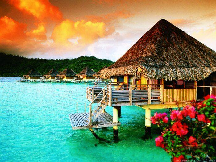 The Gorgeous And Most Desired Honeymoon Destination Of World