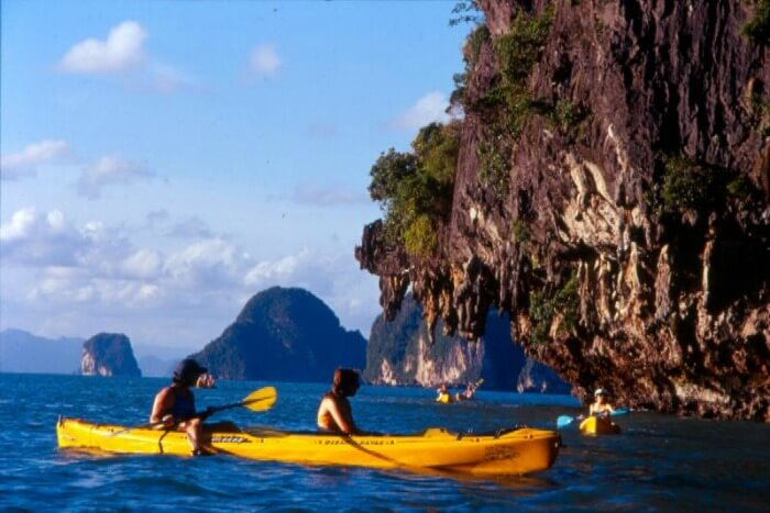 Kayaking is amongst the most popular water sport activities in Phuket and Krabi.