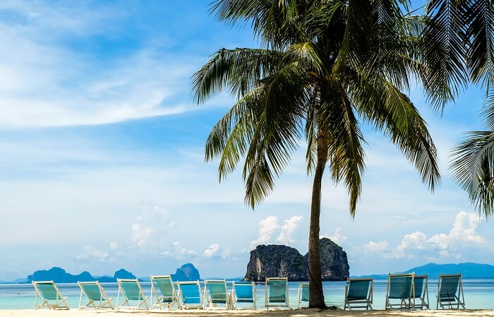 honeymoon in Koh Ngai