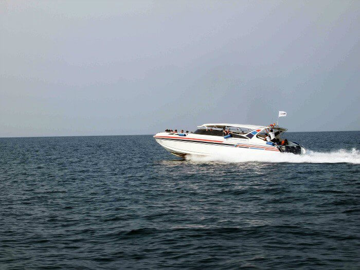 speed boating in Andaman