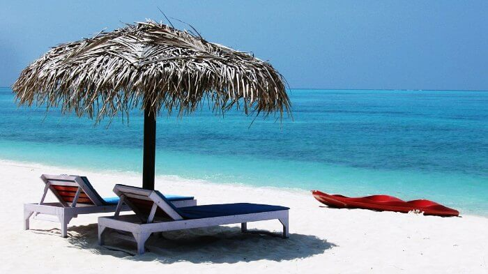 Agatti Island in Lakshadweep, one of the most beautiful beaches in India