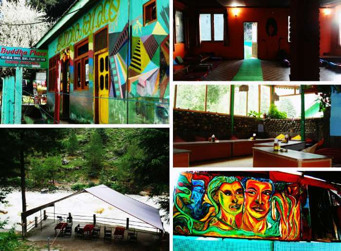 Best Cafes in Kasol include Jim Morrison Cafe, The Evergreen Cafe and Stone Garden Cafe