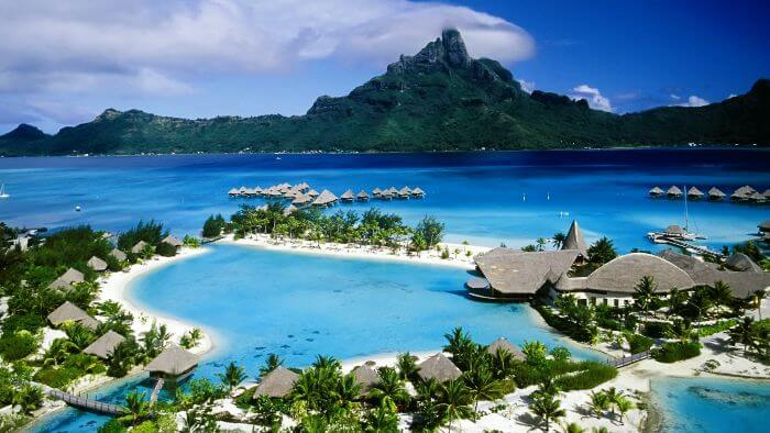 Beach resorts and blue waters of Andaman- one of the most beautiful places in India