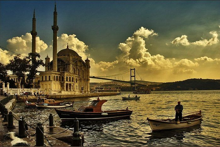 Bosphorus cruise in Turkey