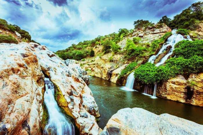 Chunchi waterfalls are amongst the most beautiful falls near Bangalore