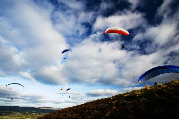 Get the ultimate high by Paragliding