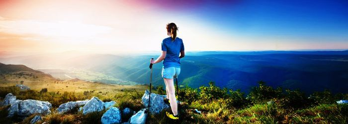 Go trekking to test your limits