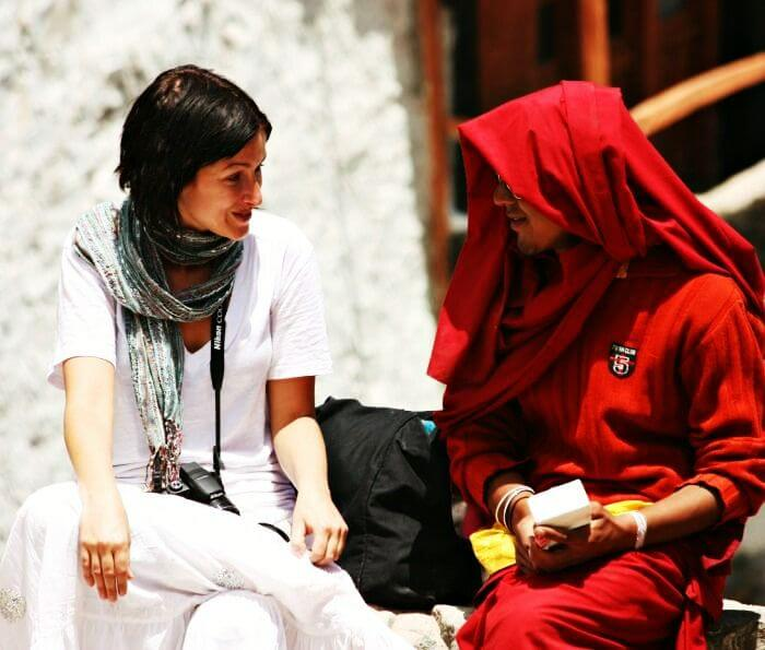 Volunteer for a cause and hang out with the monks at Dharamshala