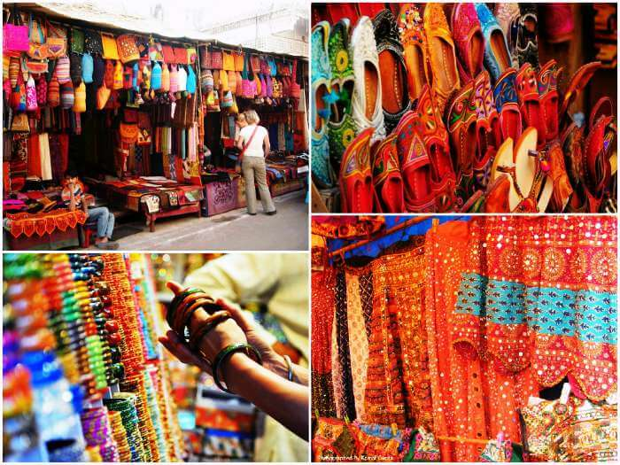 Shopping hubs in Jaipur