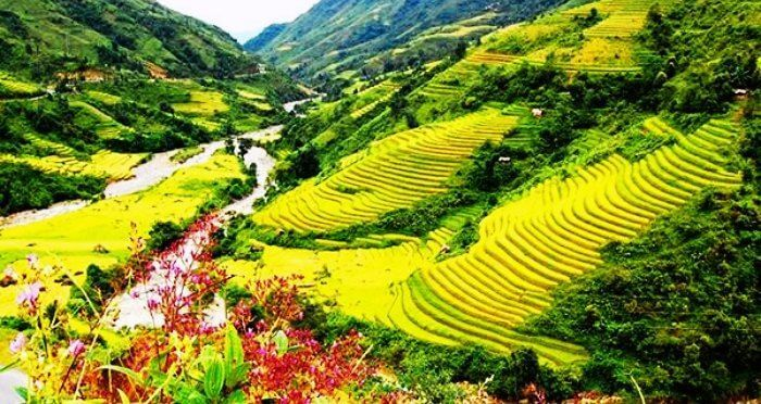 The beautiful green landscapes of Vietnam make for an ideal laid back honeymoon place in Asia
