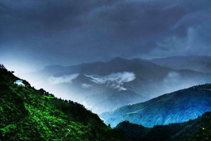 Mussoorie, one of the best weekend getaway from Delhi in monsoon