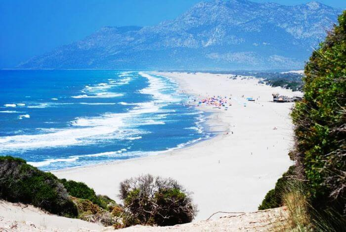 Turkey's longest beach, Patara