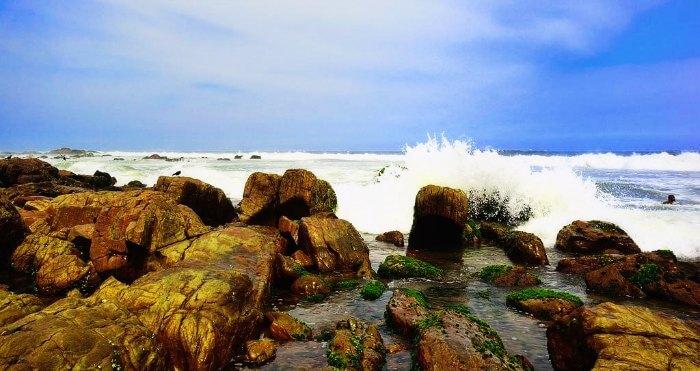 Ramakrishna Beach in Andhra Pradesh