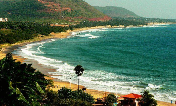 Rishikonda beach, one of the cleanest beaches in India