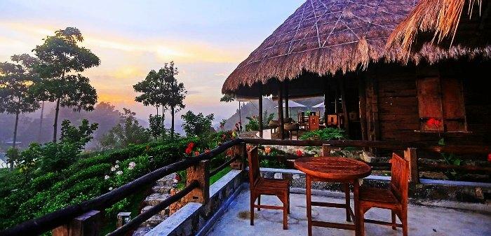 Romantic resort in Ella