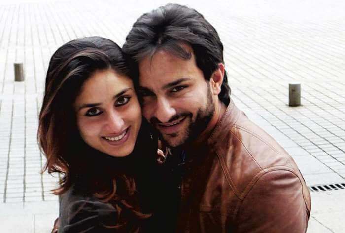 Saif and Kareena in London for Saif's Birthday