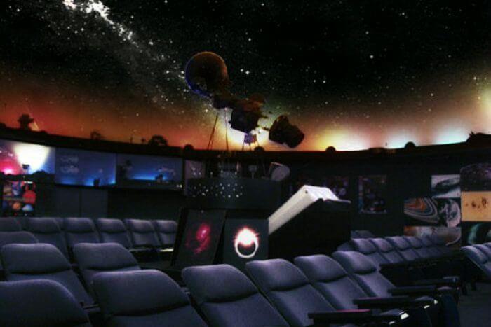 Sky Show at Nehru Planetarium in Delhi