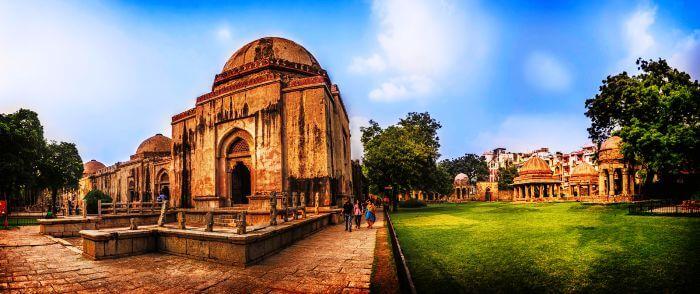 The Fort at Hauz Khas in Delhi