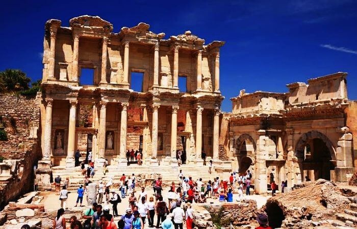 The ancient city of Ephesus