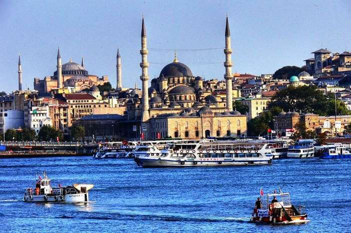 A luxury Thomson Cruise at Hagia Sofia