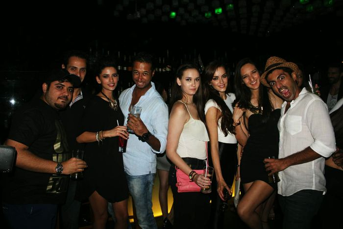 People partying at Trilogy in Mumbai