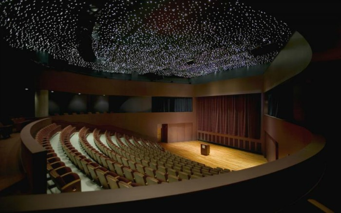 Sky Theater in Nehru Planetarium in Delhi