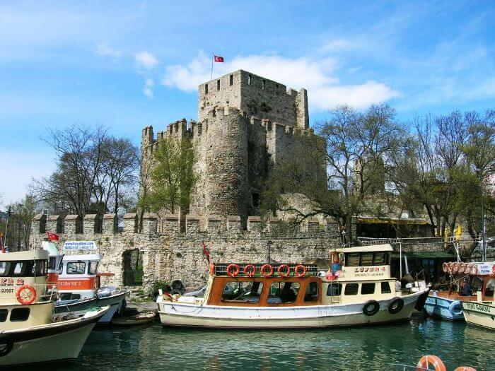 Anadoluhisari fortress is one of the must visit historical places in Istanbul